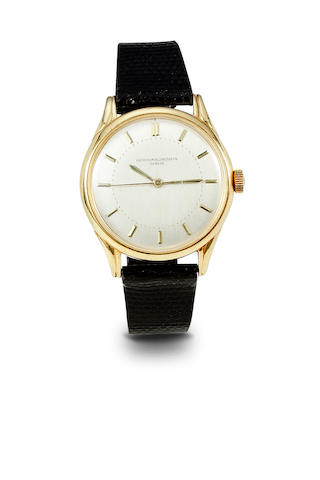Vacheron & Constantin. A fine 18K gold automatic center seconds wristwatchMovement No. 496987, Case no. 332940, circa 1950