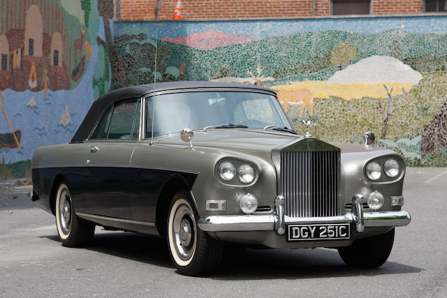 One family ownership from new,1965 Rolls-Royce Silver Cloud III Convertible  Chassis no. LCSC 113B