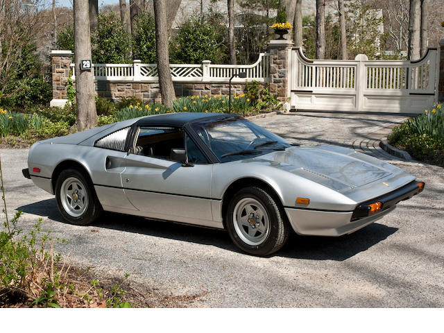 Two previous owners, 6,000 miles from new,1981 Ferrari 308 GTSi  Chassis no. ZFFAA02AXBOO36077