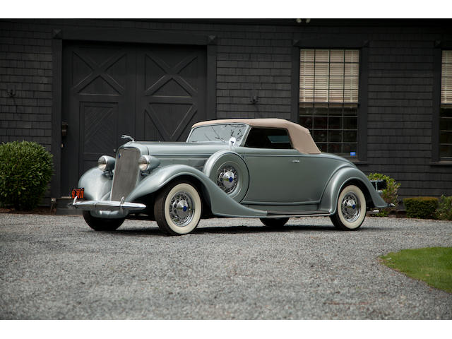Ex Tom Barrett III,1935 Lincoln Model K Convertible Roadster  Chassis no. K3722 Engine no. K3786