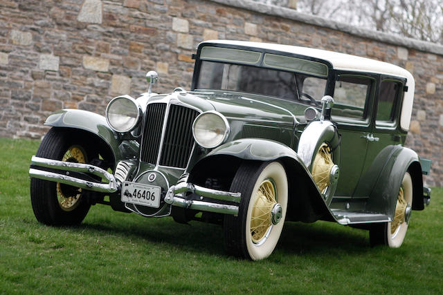 1931 Cord L-29 Brougham  Chassis no. 2929340