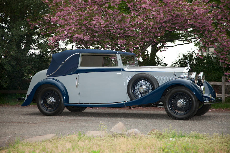 One of only 3 open Park Ward Dropheads on this chassis,1936 Rolls-Royce 25/20hp Drophead Coupe  Chassis no. GXM 61 Engine no. B25 C