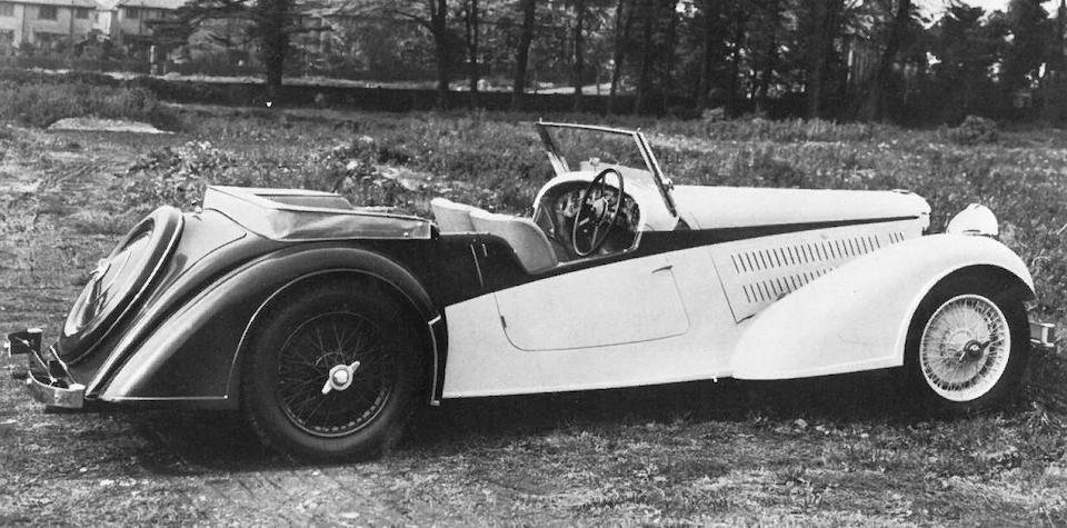 1937 Alvis SB 13/22 'AS 226' Four Seat Tourer