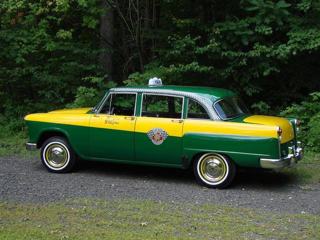 1965 Checker Marathon Sedan in Park Avenue Cab livery  Chassis no. A12373727290