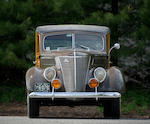 1937 Ford Model 78 V8 Station Wagon  Chassis no. 7903413