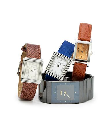 Four wristwatches