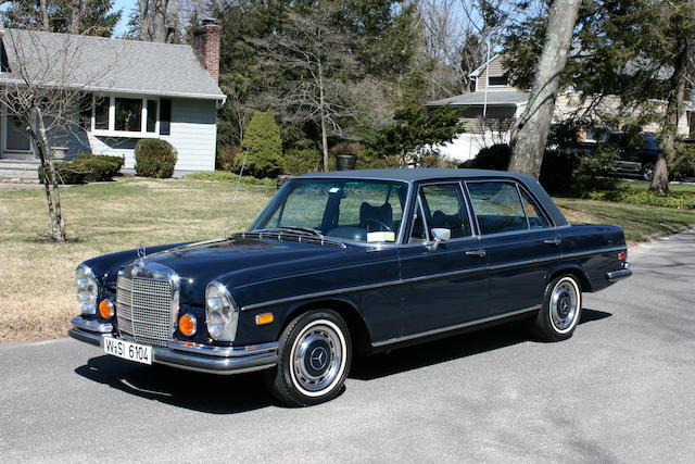 1973 Mercedes-Benz 280SEL 4.5 Sedan  Chassis no. 108068-12-17524