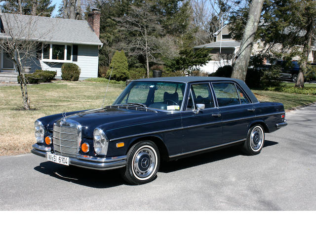 1973 Mercedes-Benz 280SEL 4.5 Sedan  Chassis no. 108068-12-17524
