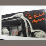 A Buick 8  Sales Brochure, 1937,