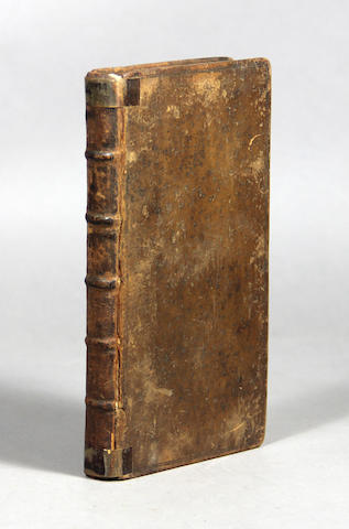ARISTOTLE. 384-322 B.C. Rhetoric; Or the True Grounds and Principles of Oratory; Shewing, the Right Art of Pleading and Speaking in Full Assemblies and Courts of Judicature. London: T.B. for Randal Taylor, 1686.