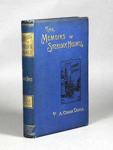 DOYLE, ARTHUR CONAN, SIR. 1859-1930. The Memoirs of Sherlock Holmes. London: George Newnes, 1894.