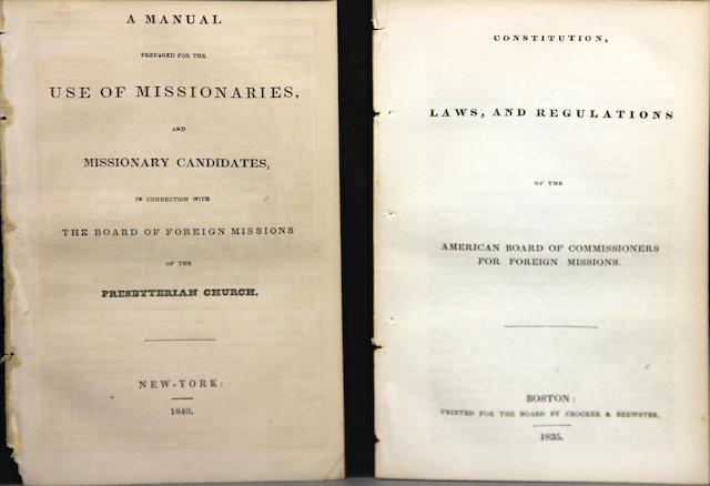 [CONSTITUTION & MANUALS.]
