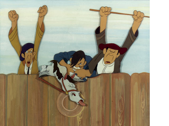 """A Walt Disney celluloid from """"Ferdinand the Bull"""""""