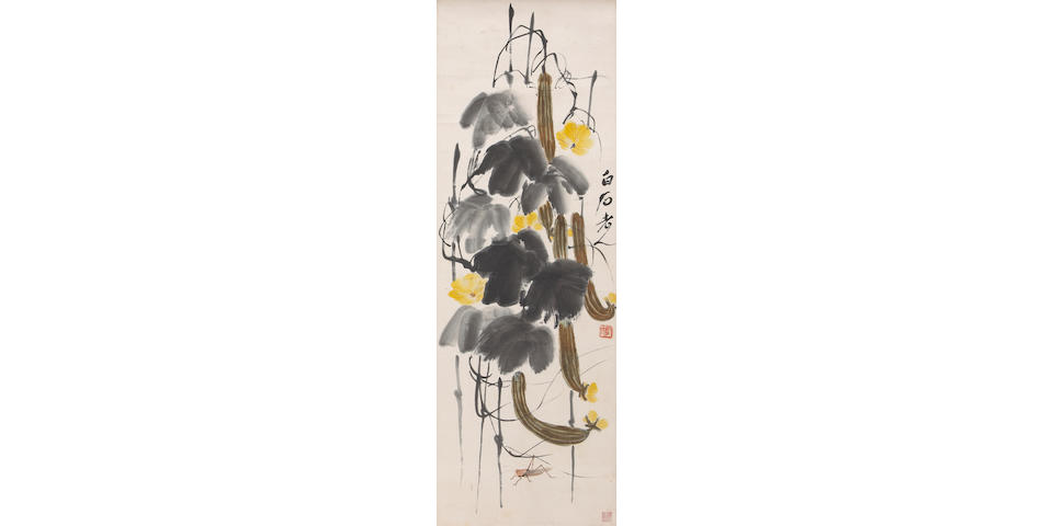 Qi Baishi (1861-1957) Gourds and Insects