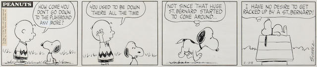 Charles M. Schulz (American, 1922-2000) Peanuts,