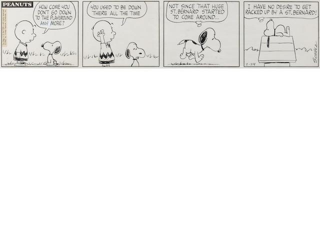 Charles M. Schulz (American, 1922-2000) Peanuts,