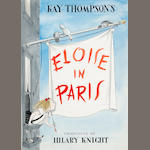 "Hilary Knight (American, born 1925) ""Eloise in Paris,"""