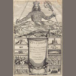 HOBBES, THOMAS. 1588-1679. Leviathan, or the Matter, Forme, & Power of a Common-Wealth Ecclesiasticall and Civill. London: Andrew Crooke, 1651.
