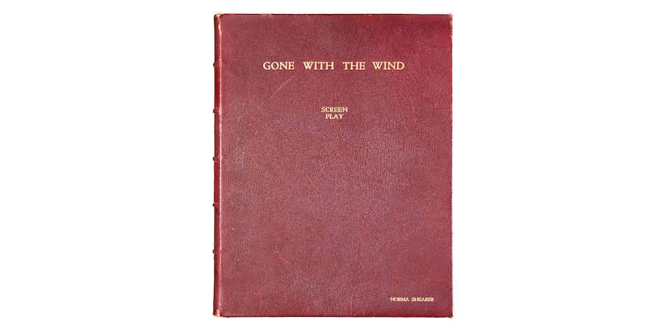 Norma Shearer Gone With The Wind presentation script