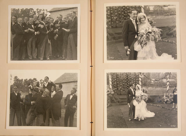 Irving Thalberg photo album