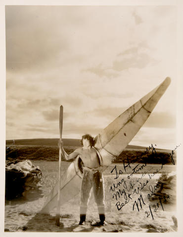 Ray Mala signed photograph