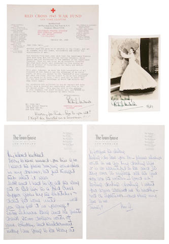 Gertrude Lawrence correspondence