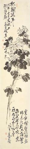 Wu Changshuo (1844-1927) Chrysanthemums