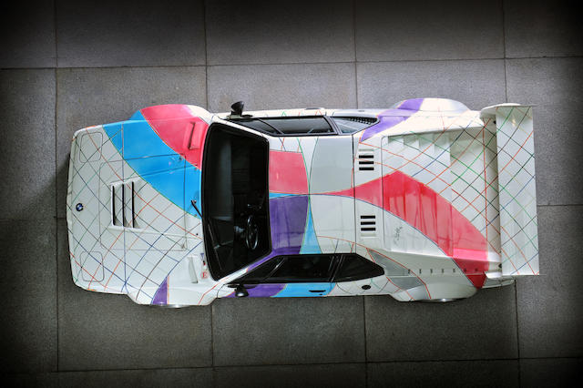 Offered for sale directly from the Solomon R. Guggenheim Museum     Ordered new by Peter Gregg, painted to the Frank Stella 'Polar Coordinates' design,1979 BMW M1 Pro-car  Chassis no. 9430-1053