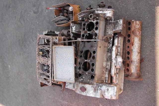 1923/24 Stutz DH 4-cylinder T head engine no. D13218H,