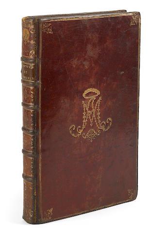 FRENCH ARISTOCRATIC BINDING--NORMA SHEARER'S COPY. Epistolae et evangelia. Paris: P.Æ. le Mercier, 1762.