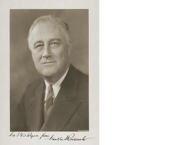 ROOSEVELT, FRANKLIN DELANO.  1882-1945.