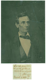 LINCOLN, ABRAHAM.
