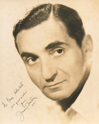 Irving Berlin signed photograph
