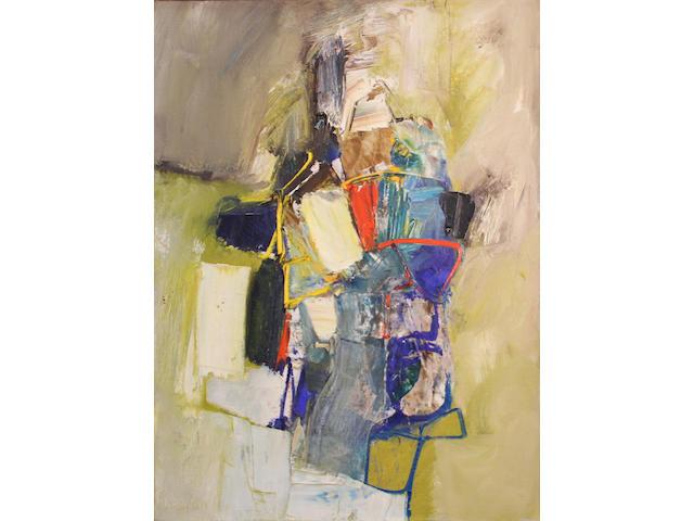 Karl Albert Kasten (American, born 1916) Paimpol, 1961 28 3/4 x 21 1/4in