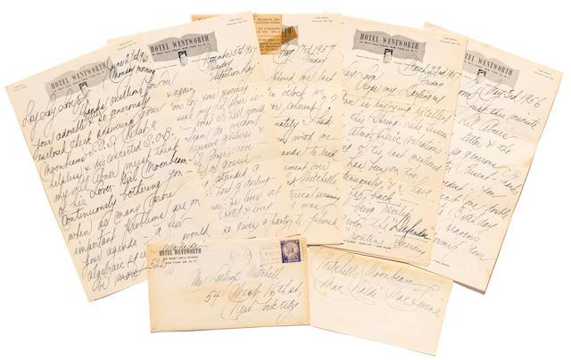 Nita Naldi handwritten letter archive