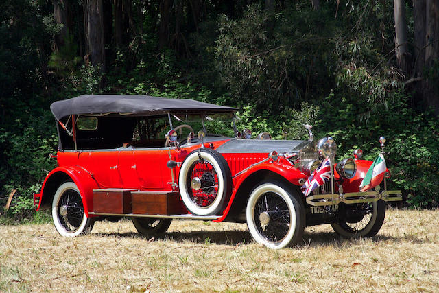 Ex-Maharaja of Kotah,1925  Rolls-Royce Phantom I  Chassis no. 23 RC Engine no. CT 15
