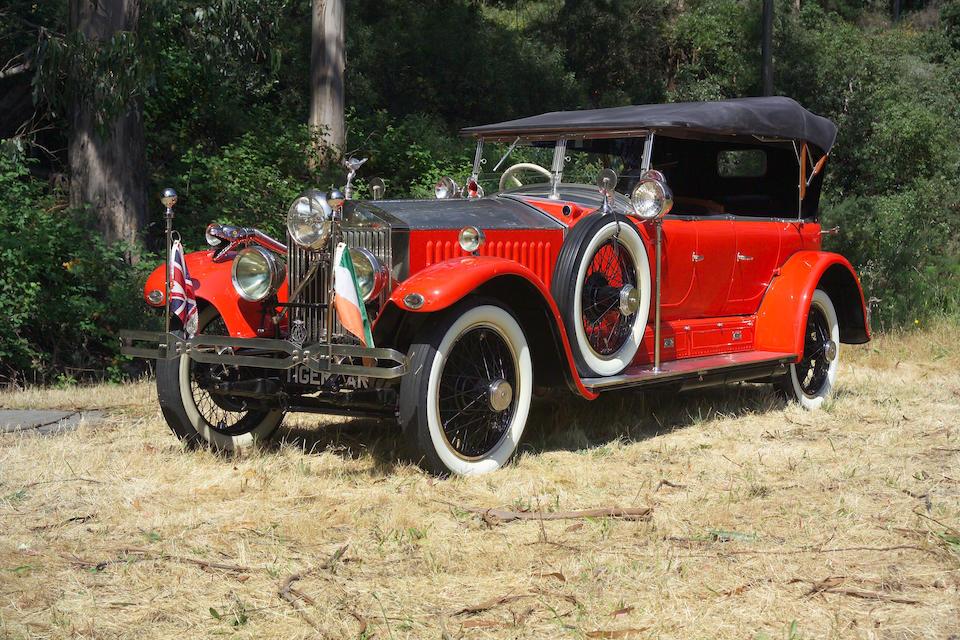 """The ex-Maharaja of Kotah """"Tiger Car"""",1925 Rolls-Royce New Phantom Torpedo Sports Tourer  Chassis no. 23 RC Engine no. CT 15"""