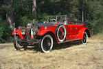 "The ex-Maharaja of Kotah ""Tiger Car"",1925 Rolls-Royce New Phantom Torpedo Sports Tourer  Chassis no. 23 RC Engine no. CT 15"