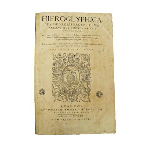 VALERIANO [BOLZANI], PIERO. 1477-1558.