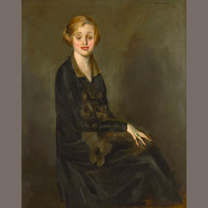 James Ben Ali Haggin III portrait of Laurette Taylor