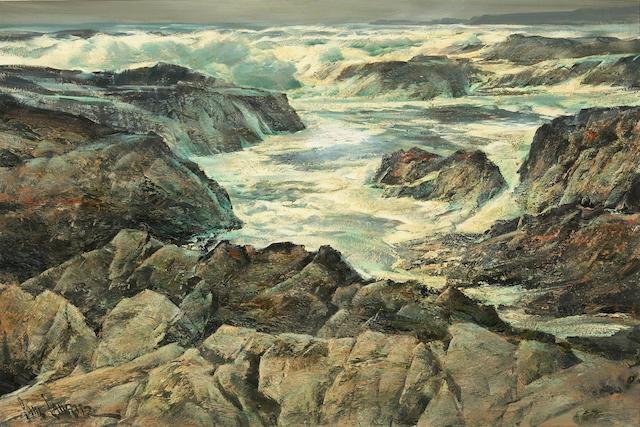 Paul Lauritz, Rock Bound Coast, Carmel