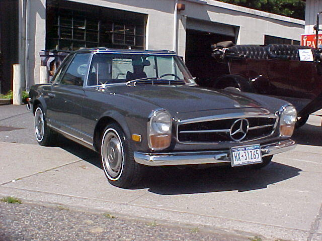 1970 Mercedes-Benz 280SL Convertible with hard top  Chassis no. 113044-12-015136 Engine no. 13098312009842