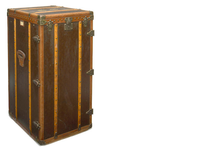 Norma Shearer's Louis Vuitton wardrobe trunk