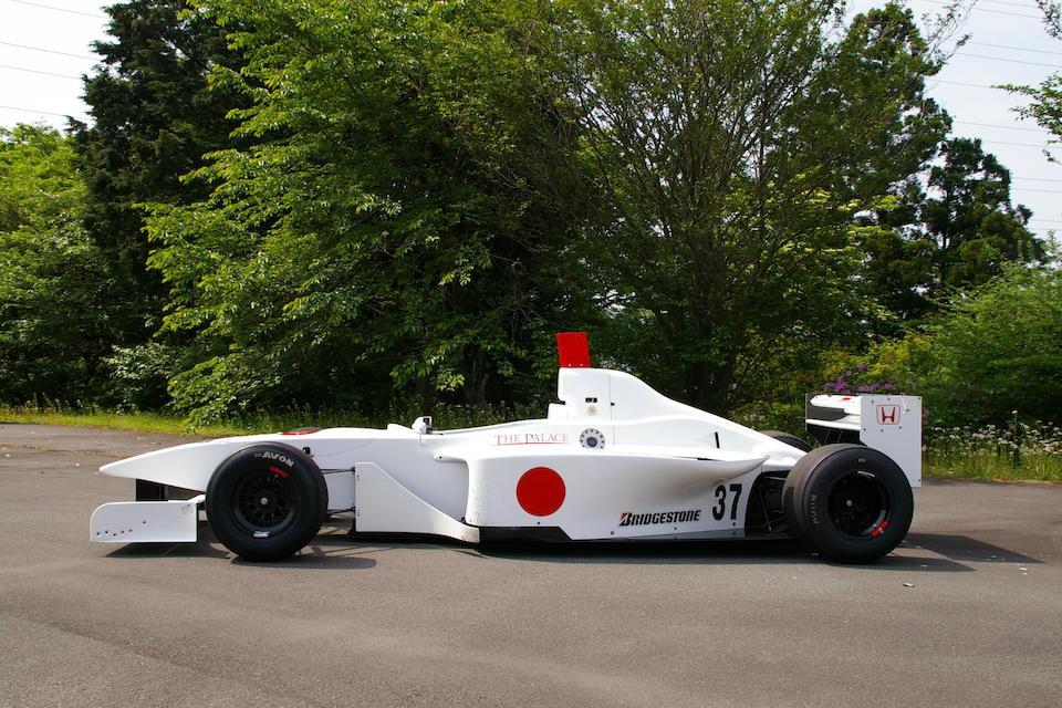 The ex-André Lotterer, 2004 Formula Nippon runner-up,2003 Lola B03/51 Mugen Formula Nippon  Chassis no. HU21