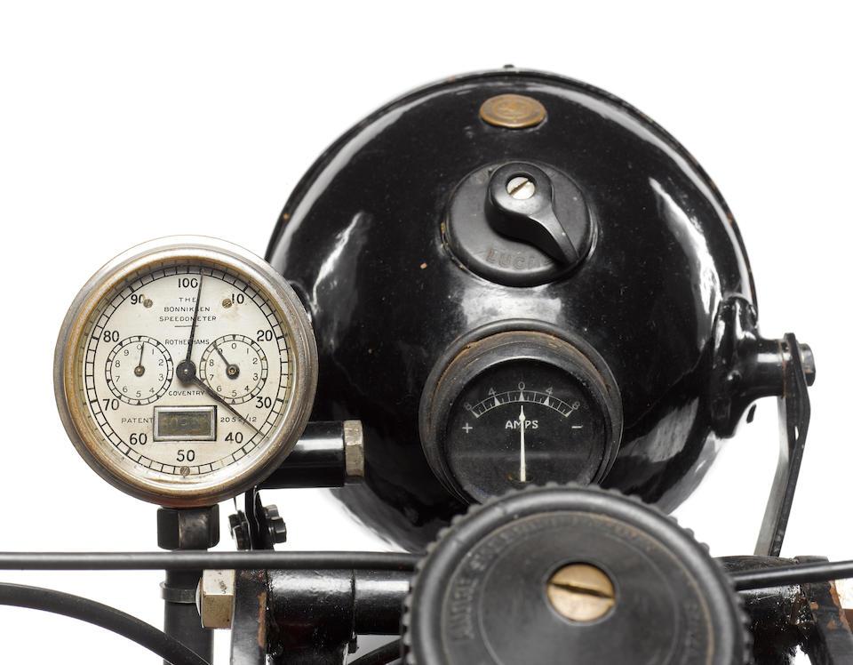 1928 Coventry-Eagle 980cc Flying-8 OHV Frame no. 40020 Engine no. KTOR/I 81147