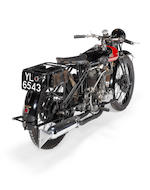 1925 Coventry-Eagle 980cc Flying-8 Sidevalve Frame no. 36244 Engine no. KTC/Y 13585
