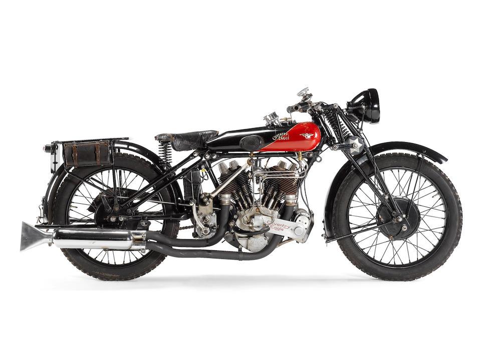 1925 Coventry-Eagle 980cc Flying-8 Sidevalve Frame no. 36244 Engine no. KTC/U 13585/VSC