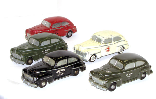Metal 1950's Promotional Cars