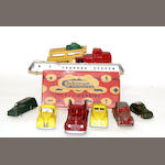 Assortment Of Metal Transportation Toys
