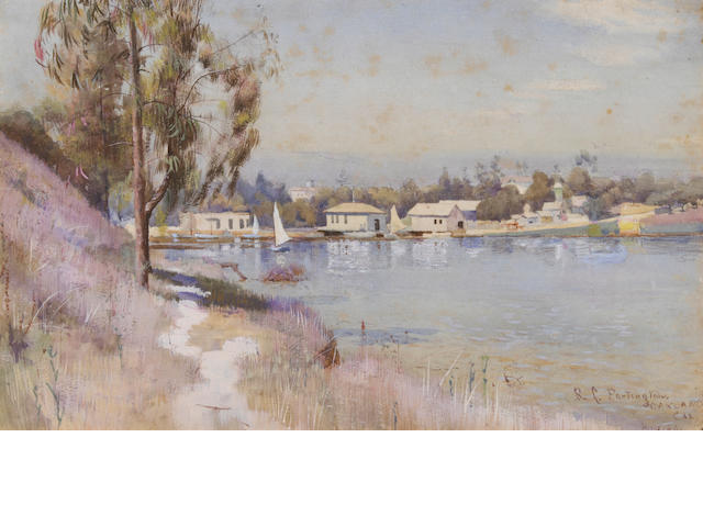 Richard L. Partington, Oakland Boat Basin (2)